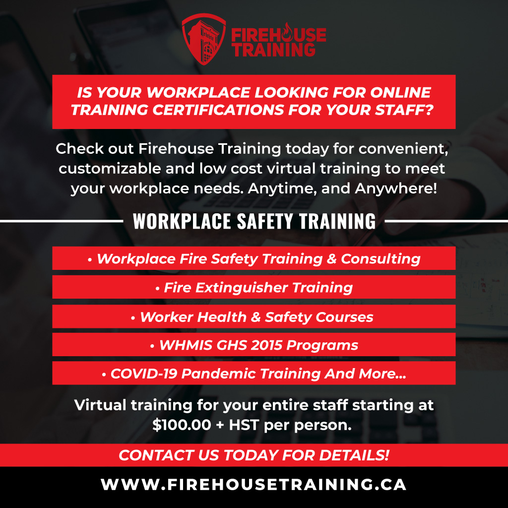 Fire Safety Training Flyer